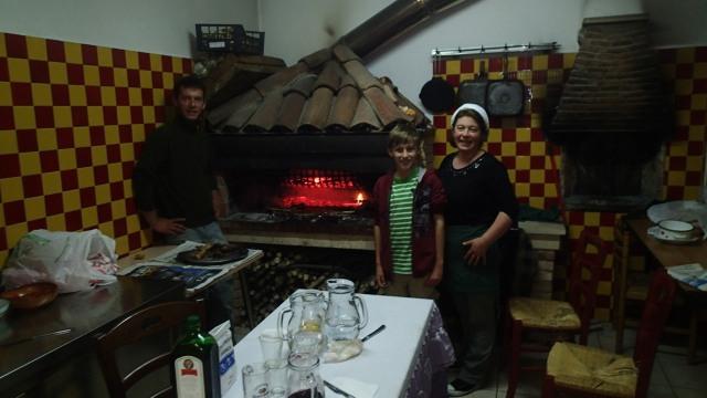 Nella cucina della Grande Quercia
